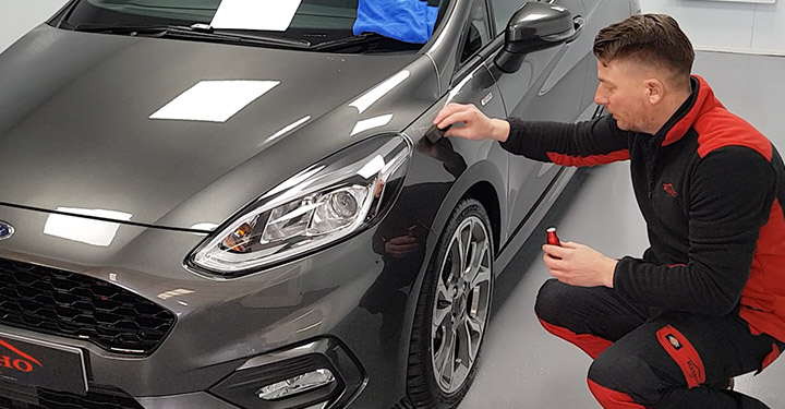 KISHO Ceramic Coating for Vehicle Paintwork Application Process