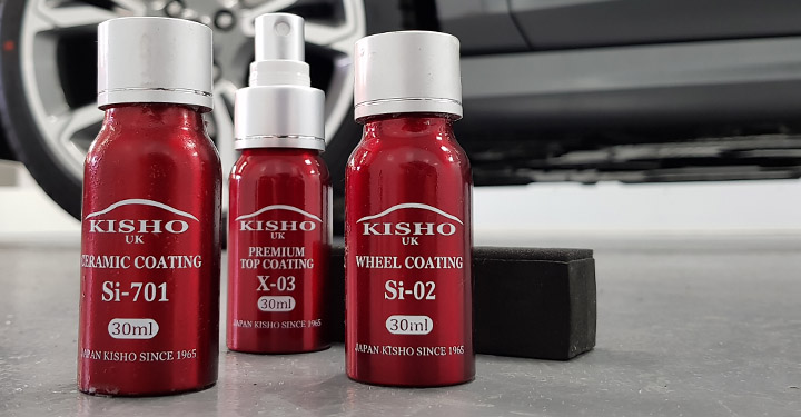 Japanese Ceramic Car Coating Kits