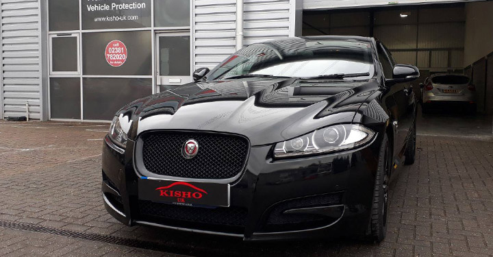 Ceramic Vehicle Coating Jaguar Black
