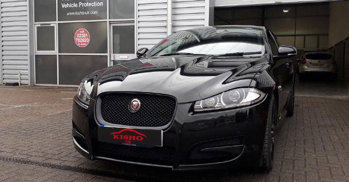 Ceramic Vehicle Coating Jaguar Black